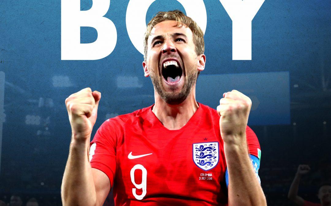 HARRY KANE – ENGLAND'S GOLDEN BOY