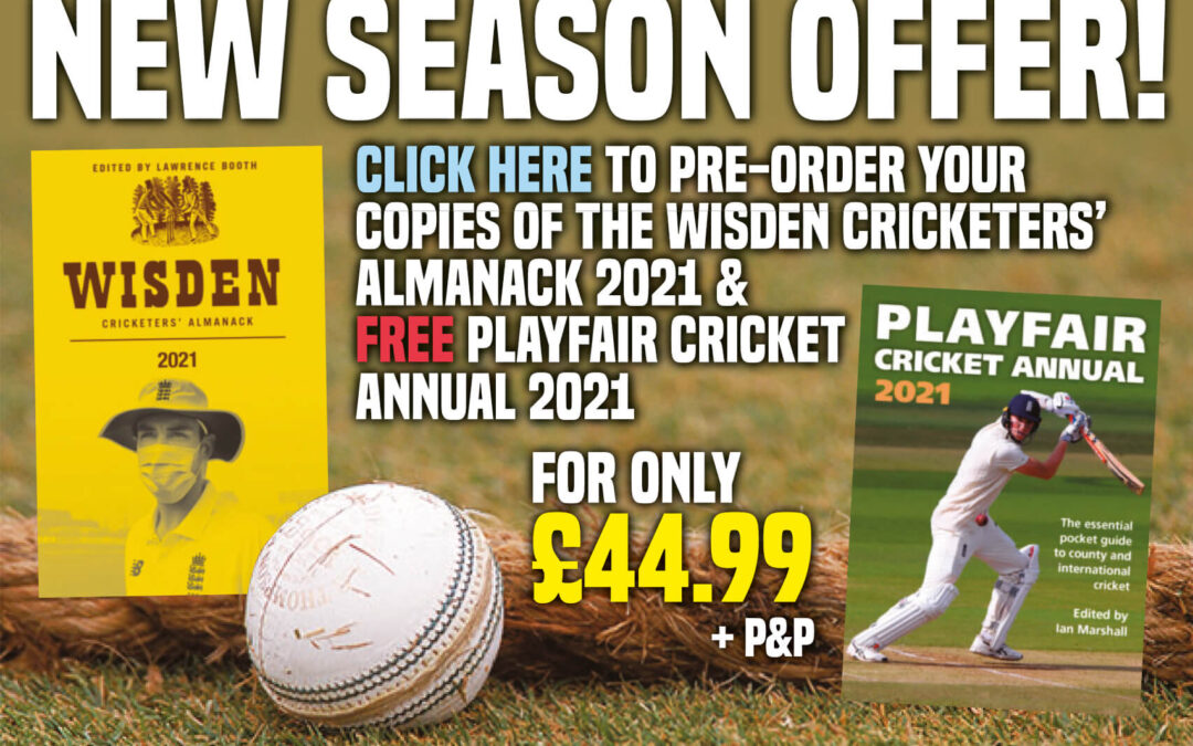 Wisden Cricketers' Almanack 2021 & Playfair Cricket Annual 2021